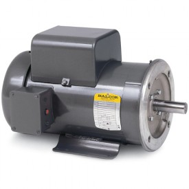 Baldor Motor VL3515T, 2HP, 3450RPM, 1PH, 60HZ, 143TC, 3535L, TEFC, F1