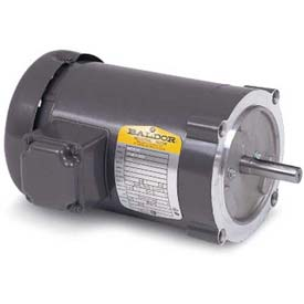 Baldor 50 Hertz Motor, VM3541-57, 3 PH, 0.75 IP44 HP, 2850 RPM, 230/400 Volts, TEFC, 56C Frame