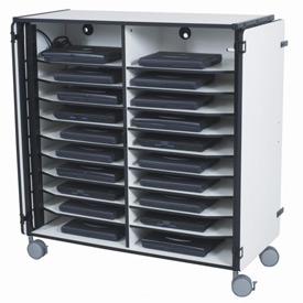 Balt® Mobile Laptop Storage & Charging Station for 20 Computers