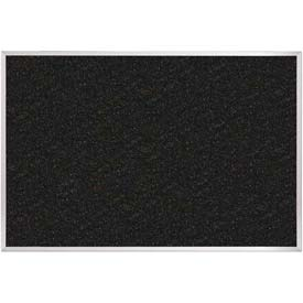 """Balt® ReTire Recycled Rubber Tackboard with Ultra Trim-Silver 48""""W x 36""""H"""