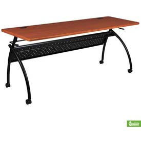 """Balt® Training Table with Flip Top - 60"""" X 24"""" - Cherry - Chi Series"""