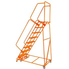 Ladders Rolling Steel Ladders Perforated 24 Quot W 8 Step