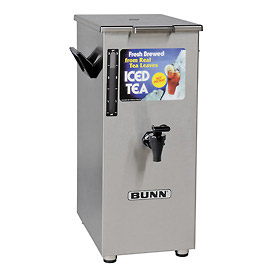 Bunn Iced Tea/Coffee Dispenser - 4 Gallon, Tall, Solid Lid - 03250.0004