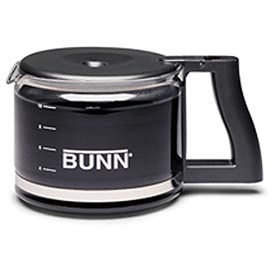 Click here to buy Bunn 06100.0103 Easy Pour Coffee Stainless Steel Bottom Decanters, 64 oz, Regular, 3 Pack.