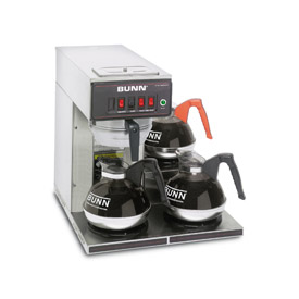12 Cup Automatic Coffee Brewer With 3 Warmers, CWT15-3 by