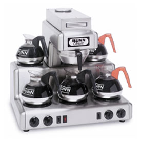 12 Cup Auto Coffee Brewer With 5 Warmers, Rl 35 by