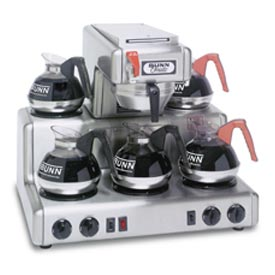 12 Cup Auto Coffee Brewer With 5 Warmers, RTF by