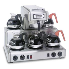 12 Cup Auto Coffee Brewer With 5 Warmers, RT by