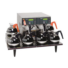 12 Cup Automatic Coffee Brewer With 6 Warmers, CWTF 0/6 Twin by
