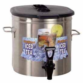 Iced Tea Dispenser 3.5/Gal., Brew Through by