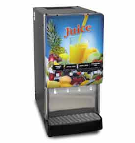 Silver Series® 4-Flavor Cold Beverage System, Lit Door