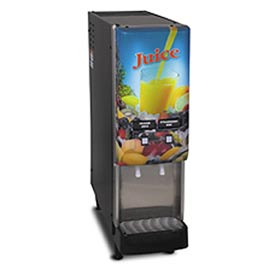 Silver Series™ 2-Flavor Cold Beverage System, Fully Lit, Juice Display