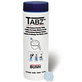 Bunn 39637.0000 - TABZ Coffee Brewer Cleaning Tablets, 1 Bottle of 120 Tablets