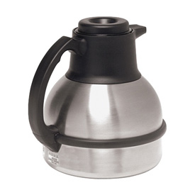 1.9 Litre Thermal Carafes, Carafe,Sst 1.9L Shrt Black 12/Pk by