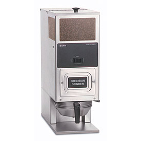Bunn G9T HD Coffee Grinder, Tall, Portion Control, One Hopper, Stainless Steel, 120V (05800.0003) by