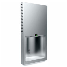 Bobrick TrimLine Recessed Automatic Hand Dryer, 115V Satin Stainless B3725 115V by