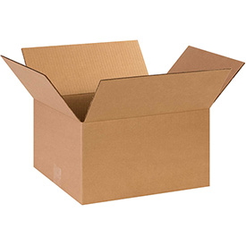 "Cardboard Corrugated Box 14"" x 12"" x 8"" 200lb. Test/ECT-32 - 25 Pack"
