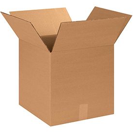 """Corrugated Boxes 14"""" x 14"""" x 14"""" 200lb. Test/ECT-32 25 Pack"""