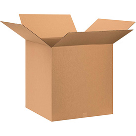 "Cardboard Corrugated Box 28"" x 28"" x 28"" 200lb. Test/ECT-32 - 5 Pack"