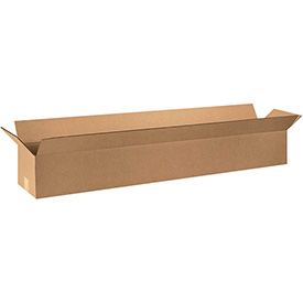 "Cardboard Corrugated Box 48"" x 6"" x 6"" Long 200lb. Test/ECT-32 - 25 Pack"