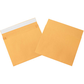 "10"" x 15"" x 2"" Kraft Expandable Self-Seal Envelopes 100 Pack by"