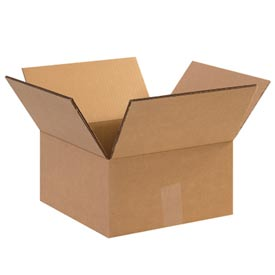"Doublewall Heavy-Duty Cardboard Corrugated Box 12-1/2"" x 12-1/2"" x 15"" 275lb. - 15 Pack"