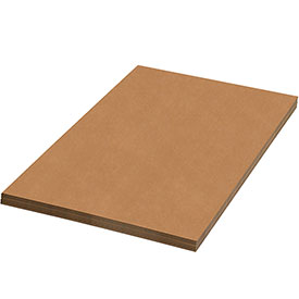"Kraft Corrugated Sheets 20"" x 30"" - 5/PACK"