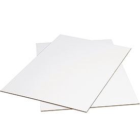 "White Corrugated Sheets 24"" x 36"" - 5 Pack"