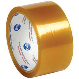 "Carton Sealing Tape 500 2"" x 55 Yds 2 Mil Clear - 6/PACK"
