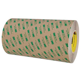 "3M 468MP Adhesive Transfer Tape Hand Rolls 12"" x 60 Yds. 5 Mil Clear by"