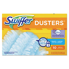 Swiffer® Refill Dusters, Unscented, 10/Box, 4 Boxes/Case - PGC21459CT