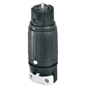 Bryant CS8264 Locking Device Connector, 250V, 50A, 2P3W