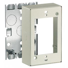 Bryant HBL5747IVA 1 Gang Shallow Device Box, Ivory