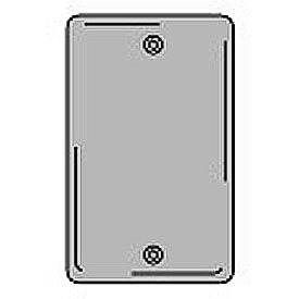 Bryant NPJ13GY Box Mounted Blank Plate, 1-Gang, Mid-Size, Gray Nylon