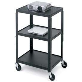 Bretford® Open Base Adjustable AV Projector Cart