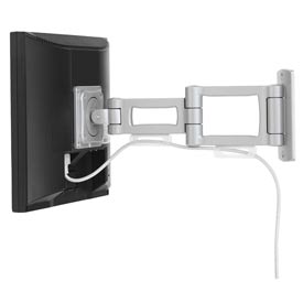 Bretford® Flat Panel Wall Mount - Single Monitor