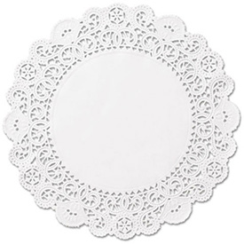Boardwalk BRK LA905-2M - Round Lace Doilies