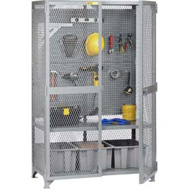 "Little Giant® Tool Storage Cabinet w/Pegboard, 61""W x 33""D x 78""H"