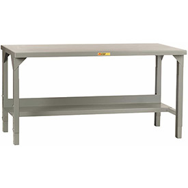 "Little Giant WST2-3060-AH 60""W x 30""D Little Giant WST2-3060-AH Adj. Height Welded Workbench"
