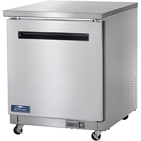 "Arctic Air AUC27F Undercounter Freezer, 1 Door, White, 6.5 Cu. Ft., 28""W x 30""D... by"