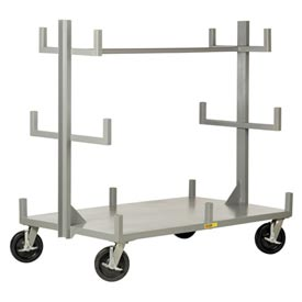 Little Giant Portable Bar & Pipe Truck BRT-3672-8PHBK, 36 x 72 by