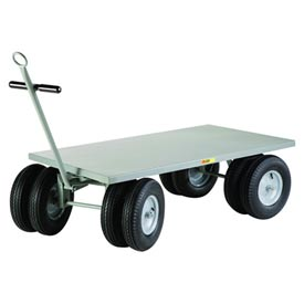 Little Giant 8-Wheeler Wagon Truck CD-3048-16PFD-CR Flush Deck 30 x 48 by