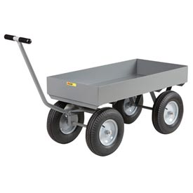 Little Giant Deep Lip Wagon Truck CH-2448-X6-12P 24 x 48 Pneumatic Wheels 2000 Lb. Cap. by