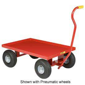 Little Giant Nursery Wagon Truck LW-2436-8S Steel Deck 8 x 2.50 Rubber Wheel by