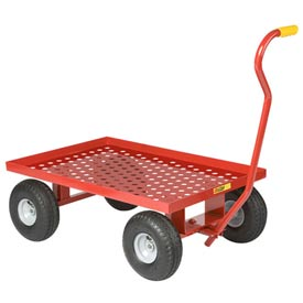 Little Giant® Nursery Wagon Truck LWP-2436-10 - Perforated Deck - 10 x 2.50 Rubber Wheel