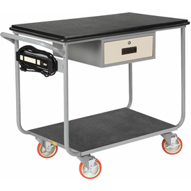 Little Giant® Mobile Work Center, Polyurethane Wheels