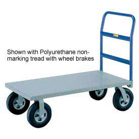 Little Giant® Heavy Duty Platform Truck NBB-2436-6MR - 24 x 36 - MORT Wheels - 2000 Lb.