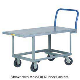 Little Giant® Work Height Platform Truck RNB-2448-6PY - 24 x 48 - Polyurethane Wheels