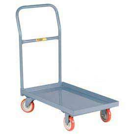Little Giant® Steel Deck Platform Truck T-700-LU-UPS - 18 x 32 - Lip Edge - Polyurethane