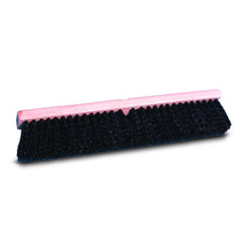 "36"" Medium Black Polypropylene Floor Brush Head - BWK20636 - Pkg Qty 12"